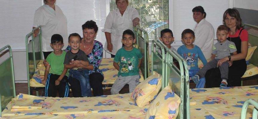 Ново спално бельо бе закупено за детската градина във Виноградец