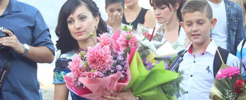 Кметът на Септември откри учебната година във Ветрен