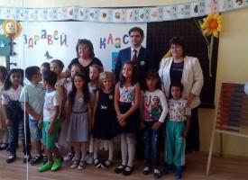 Стойно Чачов уважи първия учебен ден в училищата на Стрелча