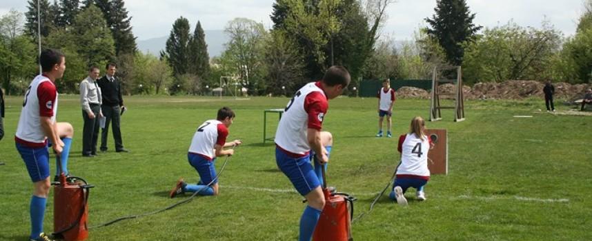 Млади огнеборци от Панагюрище и Пазарджик представиха областта на национални състезания