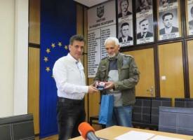 Грамоти и премии на корабомоделистите раздаде кметът