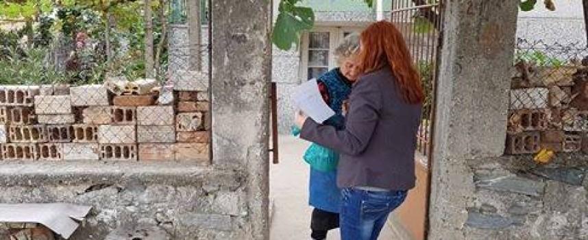 Септември се грижи за 100 самотни в общината