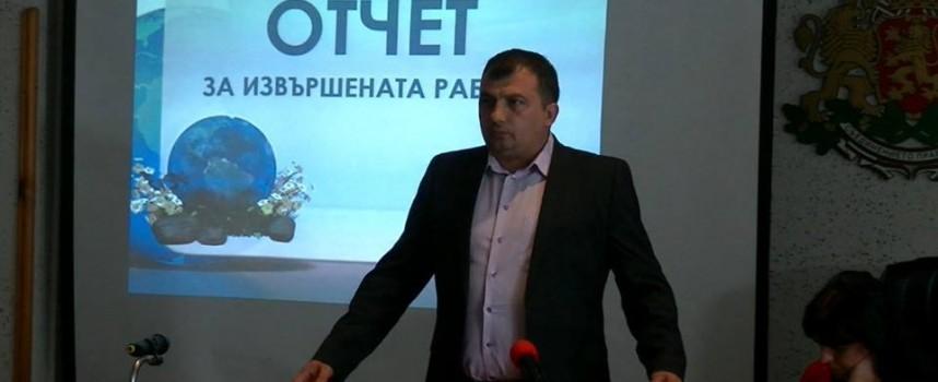 Марин Рачев отчете първата година от мандата си