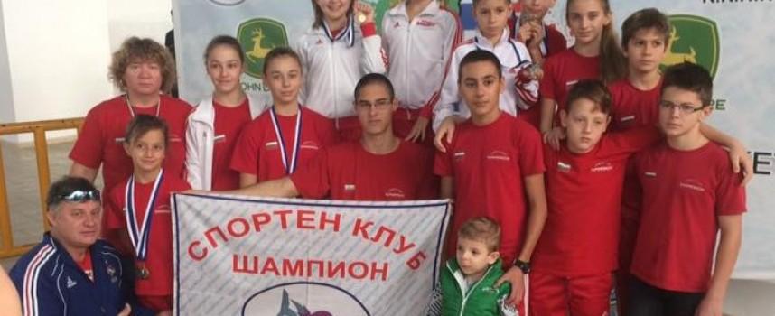 """24 медала донесе от Орестиада в Пазарджик СК""""Шампион"""""""