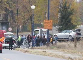 Петима оцеляха на косъм след удар в парапета на моста към Акумулаторния