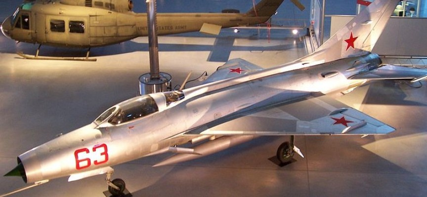 МиГ 21 каца в Бошуля