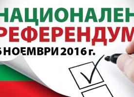 При 100% протоколи: 4 023 са невалидните бюлетини за референдума в областта