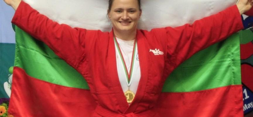 За 4-ти път: Мария Оряшкова стана световна шампионка по самбо