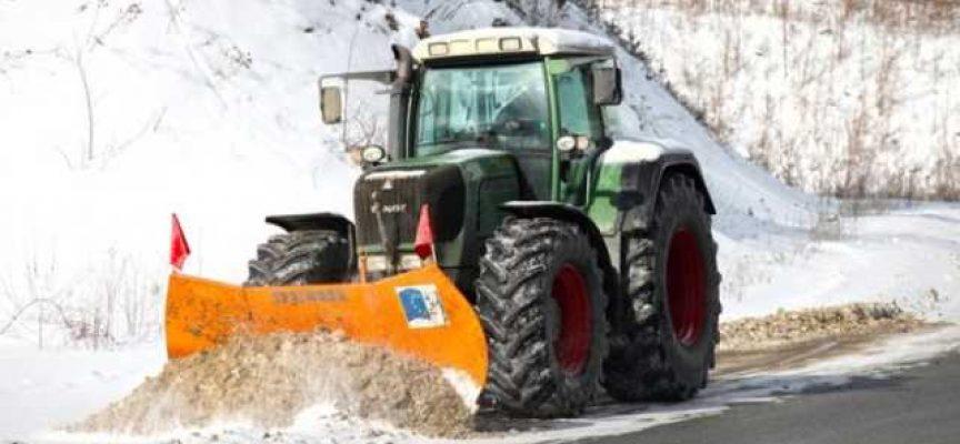 Пътищата в областта са почистени, шофирайте внимателно