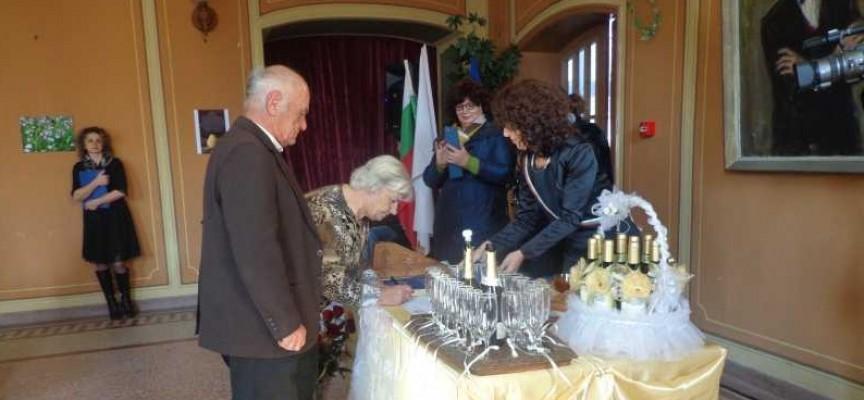 """В Брацигово: Девет двойки си казаха отново """"Да"""" след 50 години брак"""
