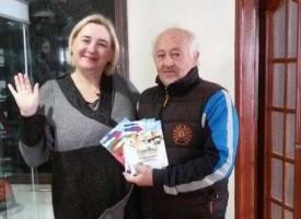 """Алманах """"Съдружество"""" попълни фонда на читалище """"Отец Паисий"""" във Велинград"""