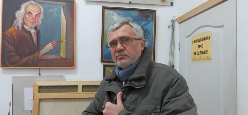 Невероятният Никола Манев дарява 30 картини на Пазарджик