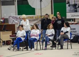 Коафьорката Ваня Иванова започна опита си да спечели място в книгата на Гинес