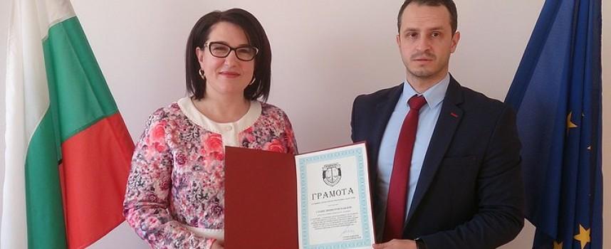 Прокурор от Пещера бе награден от Цацаров