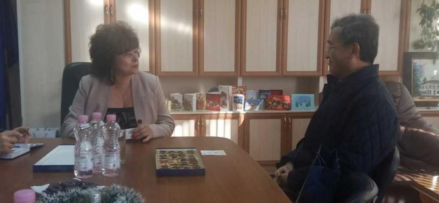 Областният управител Гинче Караминова прие посланика на Корея