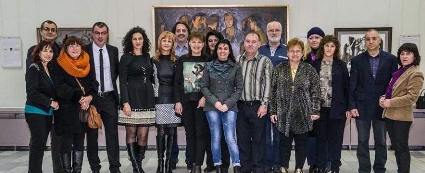 """Галерия """"Станислав Доспевски"""" откри изложбата за юбилея си"""