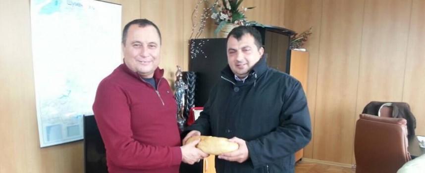 Марин Рачев отиде в Хитрино, за да види с очите си как вървят нещата