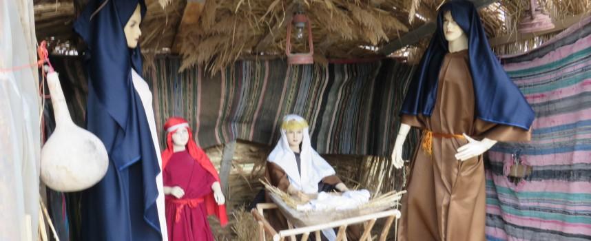 Исперихово направи възстановка на Светото семейство пред кметството