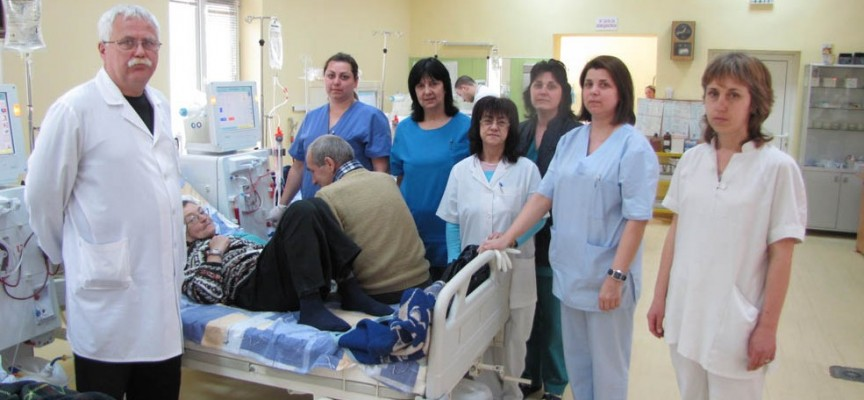 Пациентите на хемодиализа остават в отделението до края на студовете