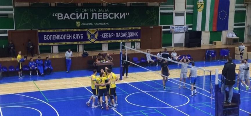 Вчера: ВК Хебър отвя ВК Раковски с 3:0