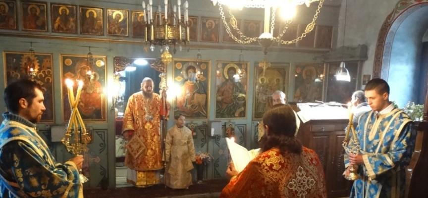 Епископ Яков отслужи неделна литургия във Ветрен дол
