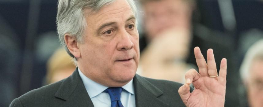 На Антоновден: Антонио Таяни оглави Европарламента