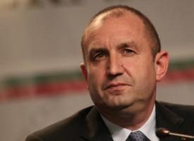 Президент Румен Радев изпрати съболезнователно писмо до Серджо Матарела