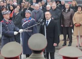Радев: Безкомпромисно ще отстоявам правата, интересите и достойнството на своя народ