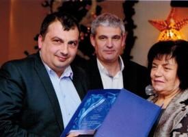 """""""Синдикатът на учителите"""" връчи награда на кмета на Септември"""