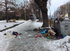 Читателска връзка: Непочистени кофи и локални сметища се озъбиха по улиците