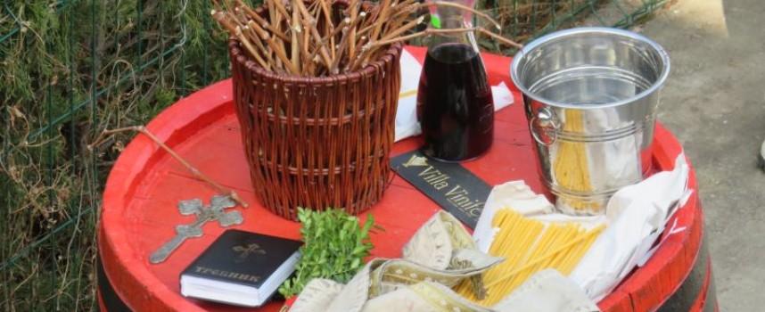 Приказник в чест на Трифон Зарезан имаше днес и във Vila Vinifera в Брестовица