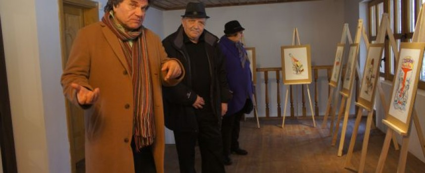 Наш художник откри изложба в Брестовица, рисува винената карта на селото