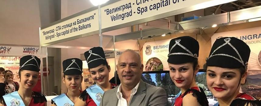 """Мариам Маврова покори участниците на Международната туристическа борса """"Ваканция СПА ЕКСПО"""""""