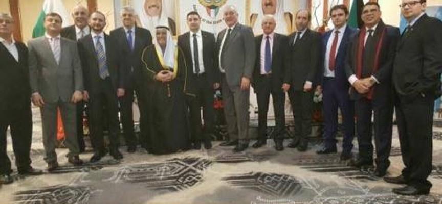 Светска хроника: Стойно Чачов на коктейл в посолството на Кувейт послучай празника им