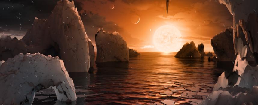 Вдигни очи: Учени откриха седем планети подобни на Земята, на 39 светлинни години от тук