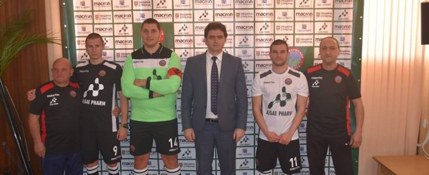 "Стрелчанският ФК""Барикади"" и ""Лудогорец""  с общ спонсор"