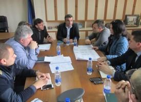 Губернаторът се срещна с шефовете на РИК и полицията за изборите