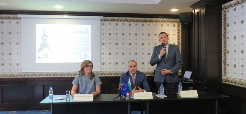 Цветан Цветанов в Пазарджик: Камери сменят изцяло полицаите на пътя като мярка срещу корупцията