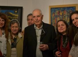 Величко Минеков присъства на откриването на изложбата на Борис Резов в София