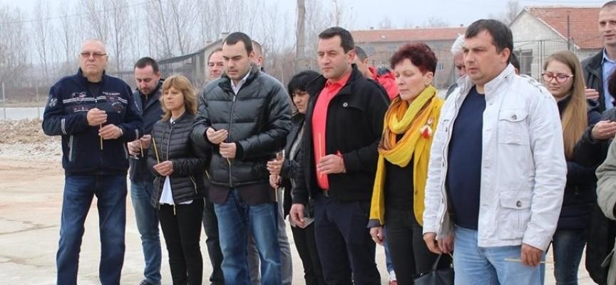 Направиха първа копка на месокомбинат в Карабунар