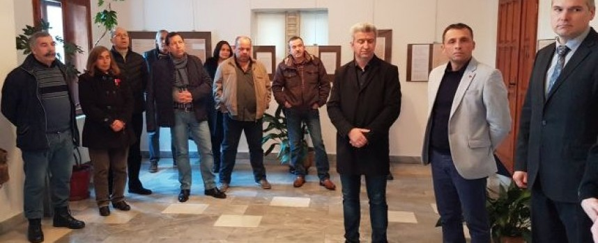Пещера: Николай Зайчев и Алексей Ушаков откриха документална изложба за кап. Сафонов