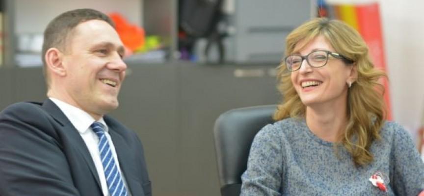 Екатерина Захариева: С подкрепата на ГЕРБ немски автомобилен гигант отваря 1200 работни места в Пазарджик