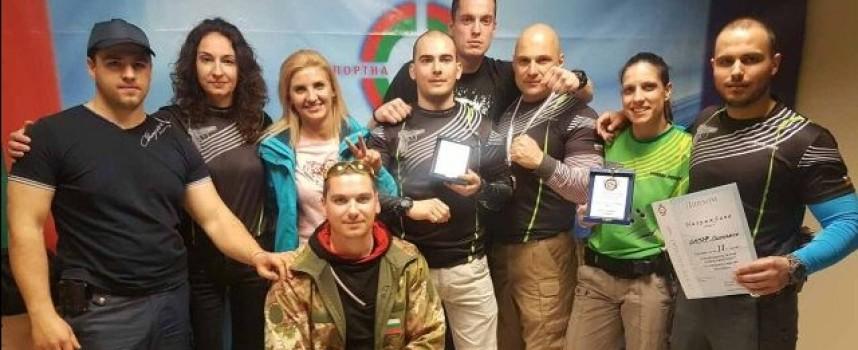 Полицейският отбор по стрелба взе среброто на турнира в Бургас