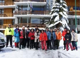 Въпреки завръщането на зимата, сърце планинарско не трае
