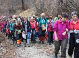 15 планинарки се включиха в Националния зимен женски поход