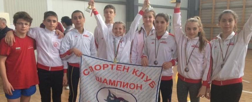 """СК""""Шампион"""" с най-много шампиони на Държавното първенство и международен турнир  по модерен петобой в Кранево"""