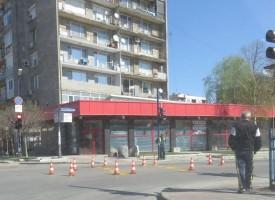 """Започнаха да подновяват маркировката на ул. """"Мария Луиза"""""""