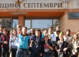 """Септември: СУ """"Христо Ботев"""" спечели общинското ученическо състезание по Безопасност на движението"""