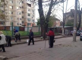 """Вход за пример: Почистват междублоковите пространства на бул. """"Г.Бенковски"""""""
