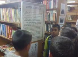 Брациговските азбукарчета с първо посещение в библиотеката